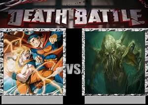 Deathbattle41: Goku and Superman vs Cthulhu by Mr-Wolfman ...