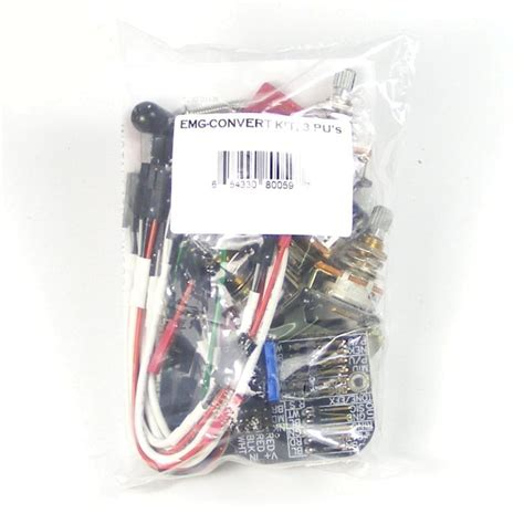 Emg Pickup Stratocaster Style Complete Active Wiring Kit