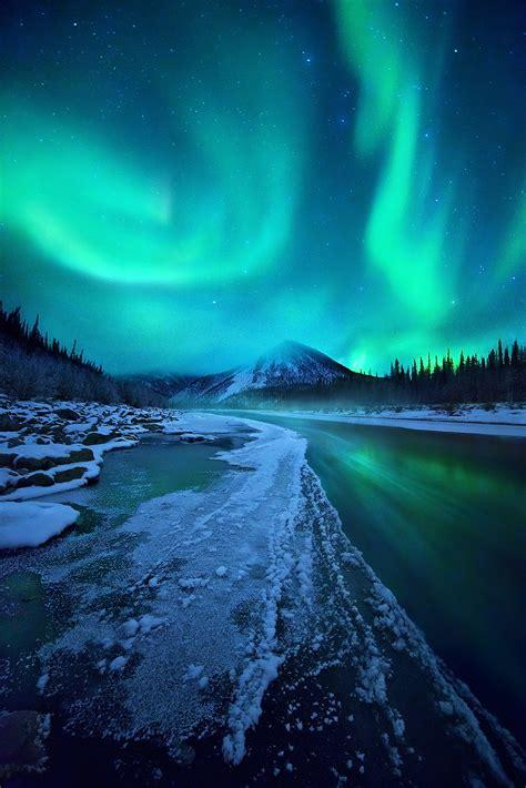 Midnight Magic Ogilvie Mountains Yukon Territory Marc