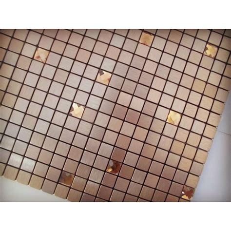 adhesive mosaic tile kitchen backsplash aluminum metal and