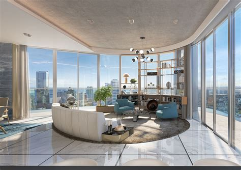 luxury condos  brickell miami brickell condos interiors