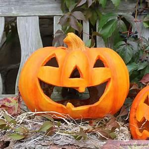 Halloween Deko Außen : halloween k rbis windlicht 27x23 cm led teelicht ~ Jslefanu.com Haus und Dekorationen