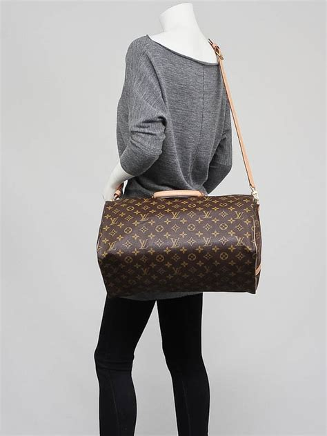 louis vuitton monogram canvas bandouliere speedy  bag yoogis closet