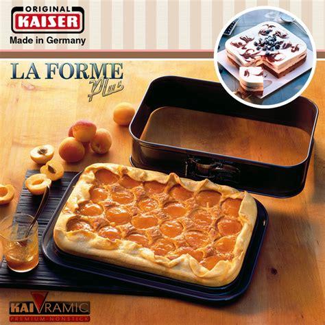 kaiser la forme kaiser la forme plus springform pan rectangular 35 x 24 cm ka