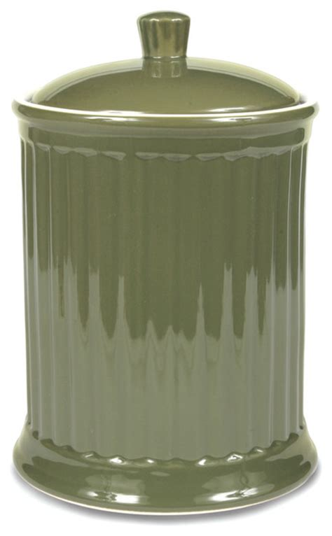 contemporary kitchen canisters simsbury large canister citron contemporary