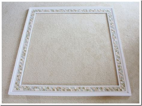 Mosaic Bathroom Mirror Diy by How To Decorate A Mirror With Tile