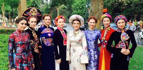 ao dai hanoi vietnam cultural costume haute culture
