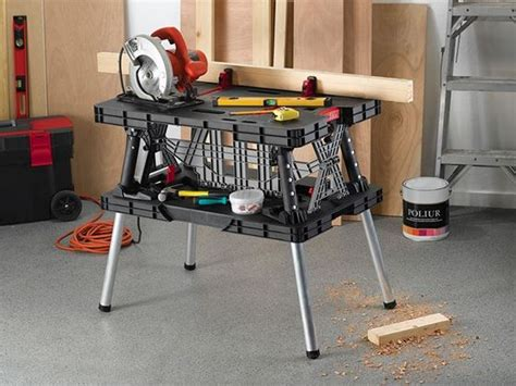 Collapsible Folding Work Table Keter