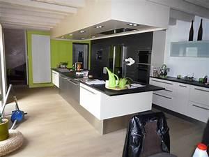 parquet dans la cuisine cuisine parquet cuisine avec gris With parquet dans cuisine