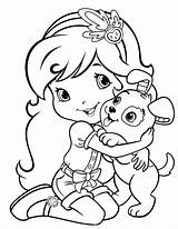 Coloring Strawberry Shortcake Pages Dog Funny Pupcake Ranch Cartoon Had Para Dibujos Called Princess Sheets Colorear Colouring Pintar Printable Printables sketch template