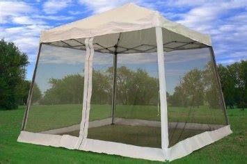 amazoncom   pop  canopy party tent gazebo ez  net white patio lawn garden