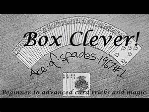 Box Clever. Beginner to advanced card tricks and magic ...
