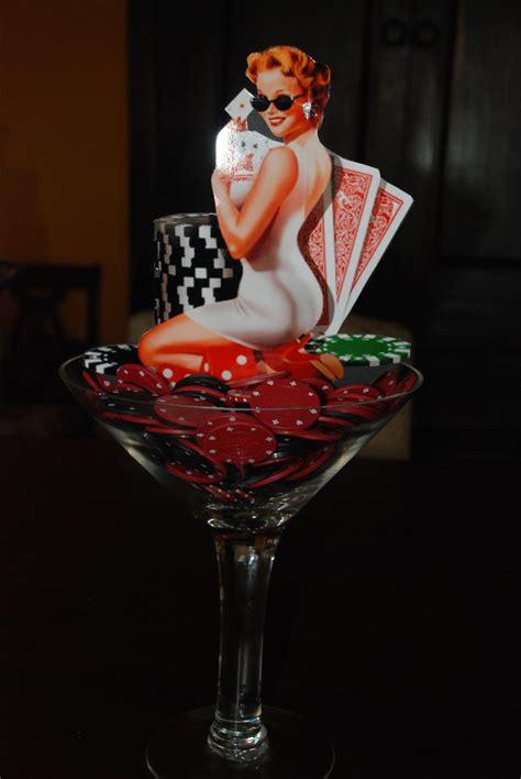 Martini Glass Centerpieces