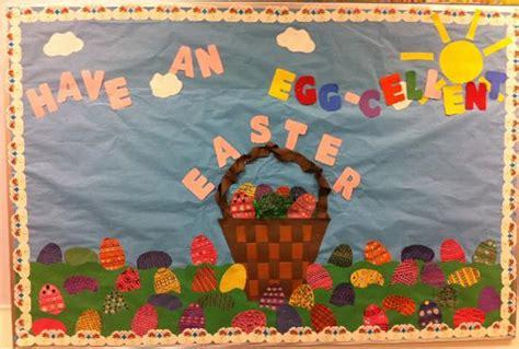 easter bulletin boards for preschool an egg cellent easter bulletin board idea 503