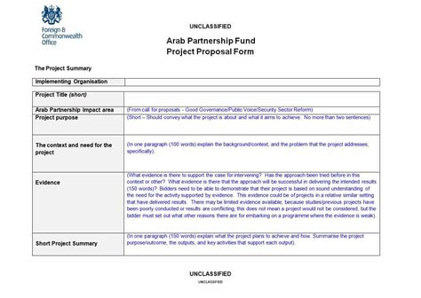 professional project proposal templates template lab