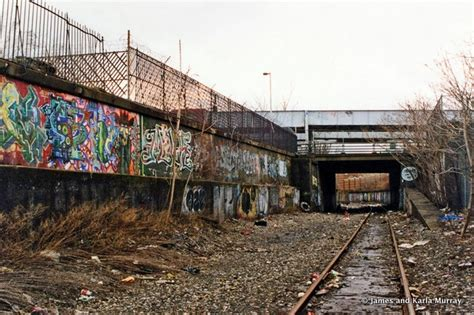 port morris tile and marble bronx photos of abandoned port morris branch tracks in the
