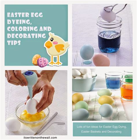 written   wall  ideas  easter egg dying