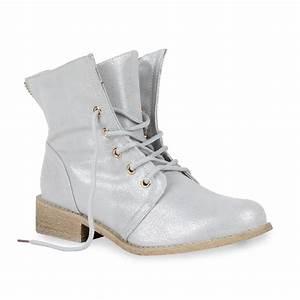 Coole Kostüme Damen : coole damen worker boots stiefeletten 70848 metallic schuhe gr 36 41 trendy ebay ~ Frokenaadalensverden.com Haus und Dekorationen