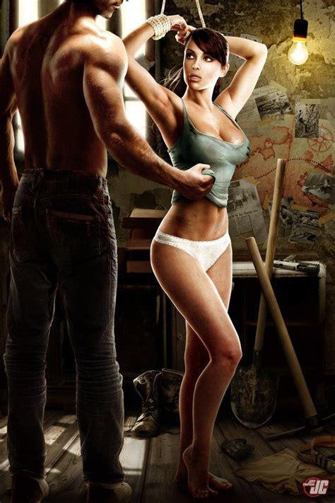 The Iron Giant Wallpaper Lara Croft Tied Up Commission Super Hot Sexy Poster Lara Croft Pinterest Lara Croft