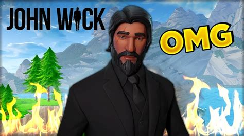 John Wick! (reaper) Fortnite New Season 3 Cosmetics