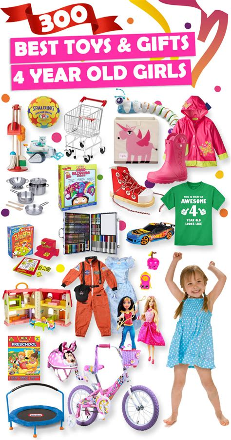 Best Gifts And Toys For 4 Year Old Girls 2018  Toy Buzz