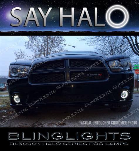 2014 dodge charger lights 2011 2014 dodge charger halo fog l driving light kit