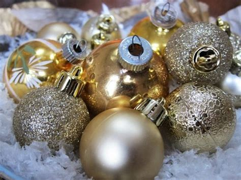 white and gold white and gold ornaments