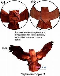 Origami Owl Instructions  Owl Origami  Origami Owl Diagram