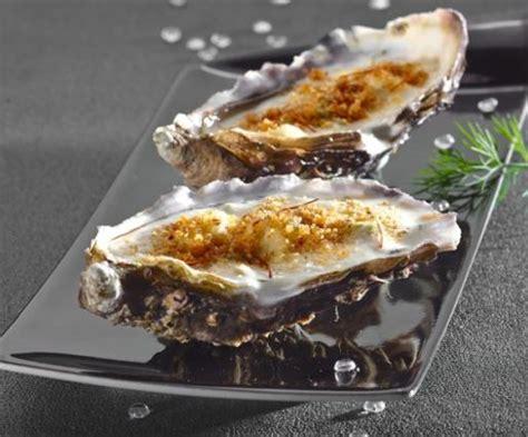 recette huitres  la creme dasperge  safran