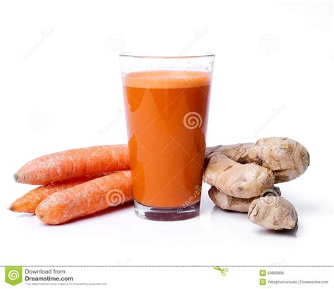 ginger carrot root juice