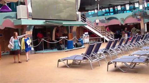 Carnival Splendor Lido Deck Plan by Carnival Splendor Lido Deck 2012