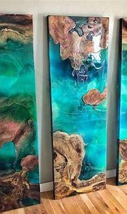 Resin in Design | Diy resin art, Epoxy resin art, Epoxy ...