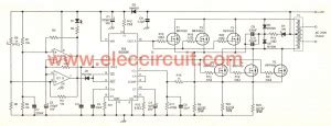 500w power inverter circuit using sg3526 irfp540 printed the output circuit of 200 watts home power inverter eleccircuit com