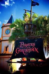 Disney Magic Kingdom Pirates of the Caribbean