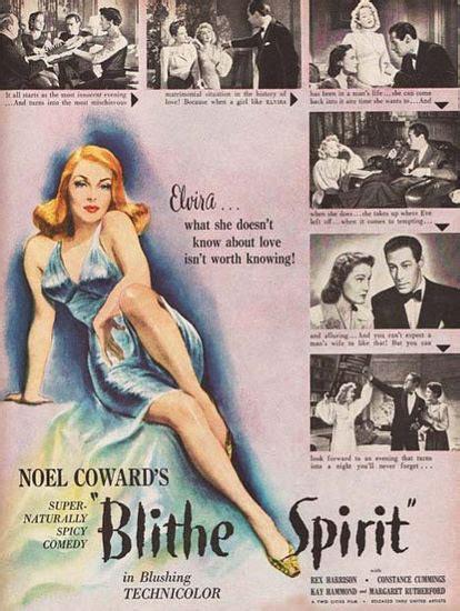 Blithe Spirit Movie Harrison Constance Cummings Mad Men