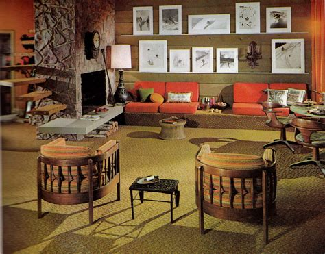 Home Decor 1960s :  The Decade Of Psychedelia Gave Rise