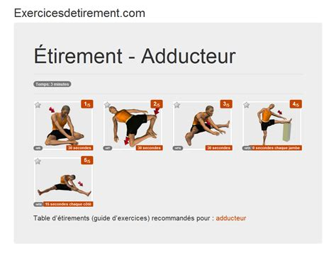 but chaise de bureau exercicesdetirement com l 39 image étirement adducteur