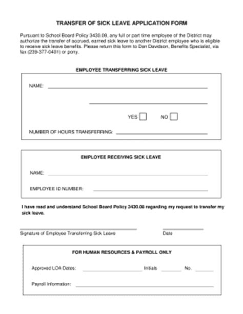 leave application form fill online printable fillable