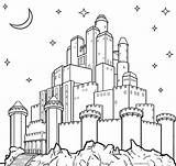 Castle Coloring Pages Printable Frozen Print Sheets Elsa Cool2bkids Cinderella Night Games sketch template