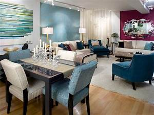decorate with bold color hgtv With bold wall painted living room colors