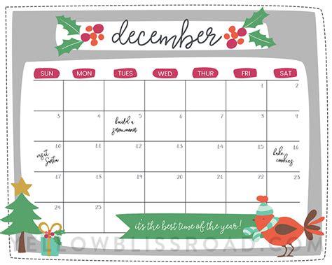 days till christmas template free printable christmas countdown calendar for december