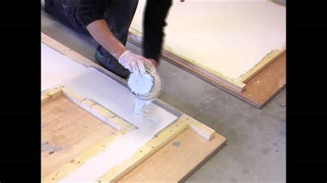 fabriquer un plan de travail cuisine fabrication plan de travail en béton