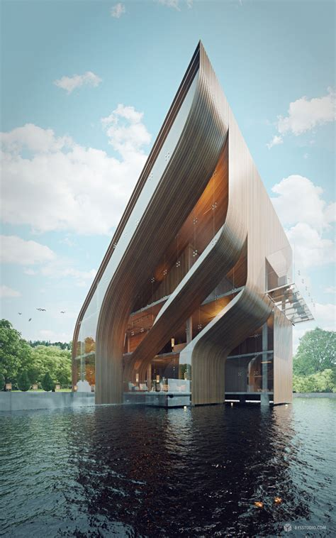 house design architecture futuristic villa in miami modern house designs