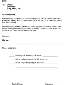 Write this letter to a customer to indicate that a payment