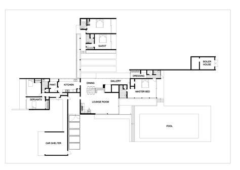 desert house plans richard neutra kaufmann house plans