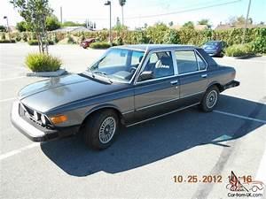 1980 Bmw 528i With 5