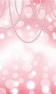 Clipart of Cute pink background with pearls k13177475 ...