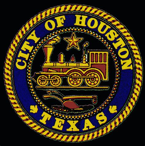 official city  houston seal