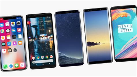 Best Smartphones by The Best Smartphones Of 2017