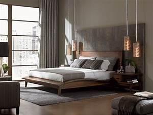 Modele De Chambre A Coucher Moderne : 100 id es pour le design de la chambre coucher moderne ~ Melissatoandfro.com Idées de Décoration